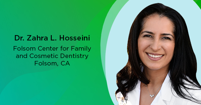 Dr. Zahra L. Hosseini, Folsom Center for Family and Cosmetic Dentistry, Folsom, CA